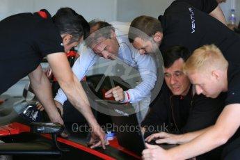 World © Octane Photographic Ltd. FIA Formula E testing – Donington Park 11th August 2015, Venturi VM200-FE-01. Venturi – Jacques Villeneuve. Digital Ref : 1367LB5D2596