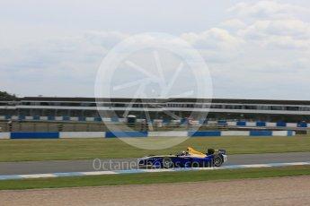 World © Octane Photographic Ltd. FIA Formula E testing – Donington Park 11th August 2015, Renault Z.E.15. Renault e.Dams – Sebastien Buemi. Digital Ref : 1367LB5D2640