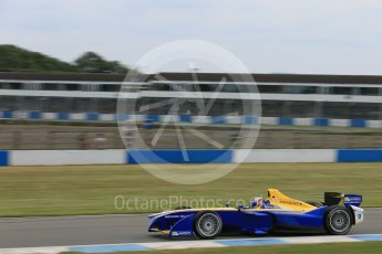 World © Octane Photographic Ltd. FIA Formula E testing – Donington Park 11th August 2015, Renault Z.E.15. Renault e.Dams – Sebastien Buemi. Digital Ref : 1367LB5D2648