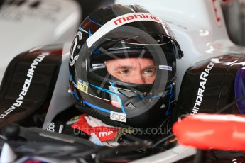 World © Octane Photographic Ltd. FIA Formula E testing – Donington Park 17th August 2015, Mahindra M2ELECTRO. Mahindra – Nick Heidfeld. Digital Ref : 1368LB1D5433