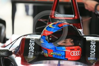 World © Octane Photographic Ltd. FIA Formula E testing – Donington Park 17th August 2015, Venturi VM200-FE-01. Dragon Racing – Loic Duval. Digital Ref : 1368LB1D5518