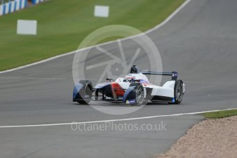 World © Octane Photographic Ltd. FIA Formula E testing – Donington Park 17th August 2015, SRT01-e. Team Aguri – Nicolas Lapierre. Digital Ref : 1368LB1D5560