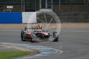 World © Octane Photographic Ltd. FIA Formula E testing – Donington Park 17th August 2015, Venturi VM200-FE-01. Venturi – Jacques Villeneuve. Digital Ref : 1368LB1D5638