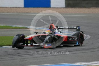 World © Octane Photographic Ltd. FIA Formula E testing – Donington Park 17th August 2015, Venturi VM200-FE-01. Venturi – Jacques Villeneuve. Digital Ref : 1368LB1D5647