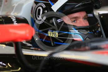 World © Octane Photographic Ltd. FIA Formula E testing – Donington Park 17th August 2015, Mahindra M2ELECTRO. Mahindra – Nick Heidfeld. Digital Ref : 1368LB1D5812