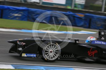 World © Octane Photographic Ltd. FIA Formula E testing – Donington Park 17th August 2015, Virgin DSV-01. DS Virgin Racing – Sam Bird. Digital Ref : 1368LB1D5872