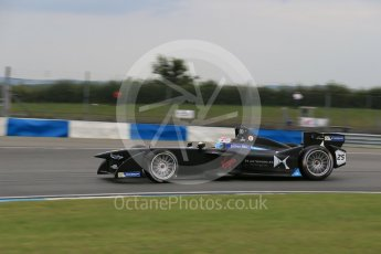World © Octane Photographic Ltd. FIA Formula E testing – Donington Park 17th August 2015, Virgin DSV-01. DS Virgin Racing – Sam Bird. Digital Ref : 1368LB1D5979