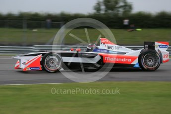 World © Octane Photographic Ltd. FIA Formula E testing – Donington Park 17th August 2015, Mahindra M2ELECTRO. Mahindra – Nick Heidfeld. Digital Ref : 1368LB1D5987