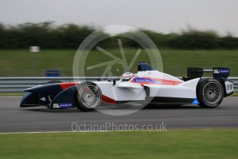 World © Octane Photographic Ltd. FIA Formula E testing – Donington Park 17th August 2015, SRT01-e. Team Aguri – Nicolas Lapierre. Digital Ref : 1368LB1D6005