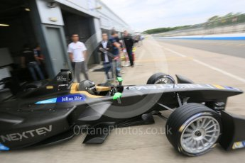 World © Octane Photographic Ltd. FIA Formula E testing – Donington Park 17th August 2015, NEXTEV TCR FormulaE 001. NEXTEV TCR – Oliver Turvey. Digital Ref : 1368LB5D2713