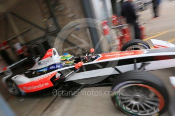 World © Octane Photographic Ltd. FIA Formula E testing – Donington Park 17th August 2015, Mahindra M2ELECTRO. Mahindra – Bruno Senna. Digital Ref : 1368LB5D2749