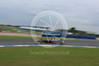 World © Octane Photographic Ltd. FIA Formula E testing – Donington Park 17th August 2015, Venturi VM200-FE-01. Venturi – Jacques Villeneuve. Digital Ref : 1368LB5D2821
