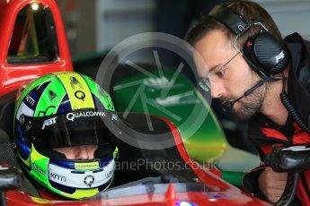 World © Octane Photographic Ltd. FIA Formula E testing – Donington Park 18th August 2015, ABT Shaeffler FE01. ABT Shaeffler Audi Sport – Lucas di Grassi. Digital Ref : 1369LB1D6162