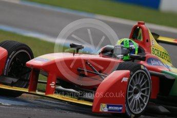 World © Octane Photographic Ltd. FIA Formula E testing – Donington Park 18th August 2015, ABT Shaeffler FE01. ABT Shaeffler Audi Sport – Lucas di Grassi. Digital Ref : 1369LB1D6420
