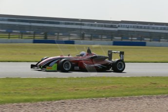 World © Octane Photographic Ltd. Wednesday 4th March 2015, General un-silenced test day – Donington Park. MSVR F3 Cup Practice. Chris Dittmann Racing (CDR) – Kieran Vernon – Dallara F307 Mercedes HWA.