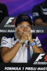 World © Octane Photographic Ltd. FIA Drivers' Press Conference. Thursday 23rd July 2015, F1 Hungarian GP, Hungaroring, Hungary. Sauber F1 Team – Felipe Nasr. Digital Ref: 1345LB1D7264