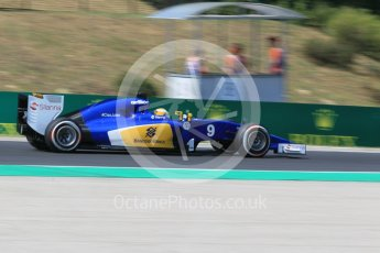 World © Octane Photographic Ltd. Sauber F1 Team C34-Ferrari – Marcus Ericsson. Friday 24th July 2015, F1 Hungarian GP Practice 2, Hungaroring, Hungary. Digital Ref: 1348CB1L5352