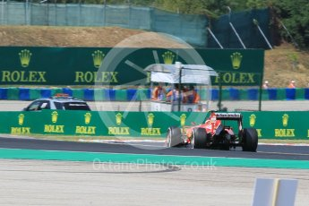 World © Octane Photographic Ltd. Scuderia Ferrari SF15-T– Kimi Raikkonen. Friday 24th July 2015, F1 Hungarian GP Practice 2, Hungaroring, Hungary. Digital Ref: 1348CB1L5436