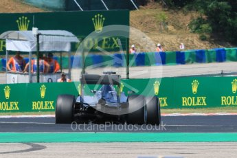 World © Octane Photographic Ltd. Mercedes AMG Petronas F1 W06 Hybrid – Lewis Hamilton. Friday 24th July 2015, F1 Hungarian GP Practice 2, Hungaroring, Hungary. Digital Ref: 1348CB7D8124