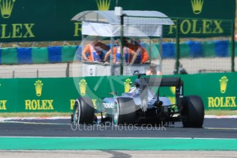 World © Octane Photographic Ltd. Mercedes AMG Petronas F1 W06 Hybrid – Lewis Hamilton. Friday 24th July 2015, F1 Hungarian GP Practice 2, Hungaroring, Hungary. Digital Ref: 1348CB7D8127