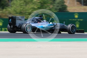 World © Octane Photographic Ltd. Mercedes AMG Petronas F1 W06 Hybrid – Lewis Hamilton. Friday 24th July 2015, F1 Hungarian GP Practice 2, Hungaroring, Hungary. Digital Ref: 1348CB7D8155