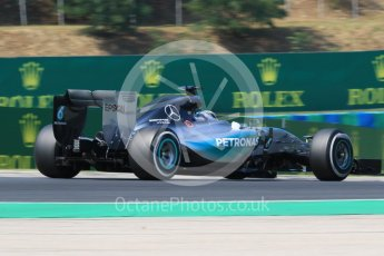 World © Octane Photographic Ltd. Mercedes AMG Petronas F1 W06 Hybrid – Lewis Hamilton. Friday 24th July 2015, F1 Hungarian GP Practice 2, Hungaroring, Hungary. Digital Ref: 1348CB7D8158