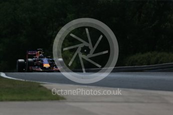 World © Octane Photographic Ltd. Infiniti Red Bull Racing RB11 – Daniel Ricciardo. Friday 24th July 2015, F1 Hungarian GP Practice 2, Hungaroring, Hungary. Digital Ref: 1348LB1D8761