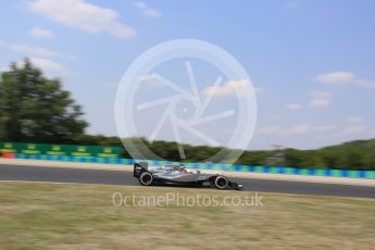 World © Octane Photographic Ltd. McLaren Honda MP4/30 - Jenson Button. Friday 24th July 2015, F1 Hungarian GP Practice 2, Hungaroring, Hungary. Digital Ref: 1348LB5D0486