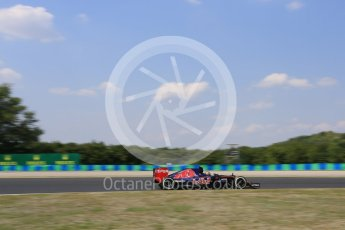 World © Octane Photographic Ltd. Scuderia Toro Rosso STR10 – Carlos Sainz Jnr. Friday 24th July 2015, F1 Hungarian GP Practice 2, Hungaroring, Hungary. Digital Ref: 1348LB5D0532