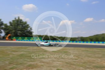 World © Octane Photographic Ltd. Mercedes AMG Petronas F1 W06 Hybrid – Nico Rosberg. Friday 24th July 2015, F1 Hungarian GP Practice 2, Hungaroring, Hungary. Digital Ref: 1348LB5D0599