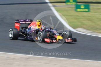 World © Octane Photographic Ltd. Infiniti Red Bull Racing RB11 – Daniil Kvyat. Saturday 25th July 2015, F1 Hungarian GP Practice 3, Hungaroring, Hungary. Digital Ref: 1352CB7D8360