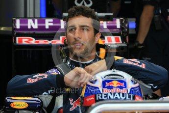 World © Octane Photographic Ltd. Infiniti Red Bull Racing RB11 – Daniel Ricciardo. Saturday 25th July 2015, F1 Hungarian GP Practice 3, Hungaroring, Hungary. Digital Ref: 1352LB1D0046