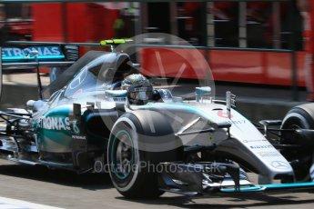 World © Octane Photographic Ltd. Mercedes AMG Petronas F1 W06 Hybrid – Nico Rosberg. Saturday 25th July 2015, F1 Hungarian GP Practice 3, Hungaroring, Hungary. Digital Ref: 1352LB1D0119