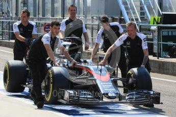 World © Octane Photographic Ltd. McLaren Honda MP4/30 – Fernando Alonso. Saturday 25th July 2015, F1 Hungarian GP Practice 3, Hungaroring, Hungary. Digital Ref: 1352LB1D9708