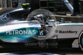 World © Octane Photographic Ltd. Mercedes AMG Petronas F1 W06 Hybrid – Nico Rosberg. Saturday 25th July 2015, F1 Hungarian GP Practice 3, Hungaroring, Hungary. Digital Ref: 1352LB1D9908