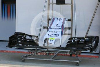 World © Octane Photographic Ltd. Williams Martini Racing FW37. Thursday 23rd July 2015, F1 Hungarian GP Pitlane, Hungaroring, Hungary. Digital Ref: 1343LB5D0024