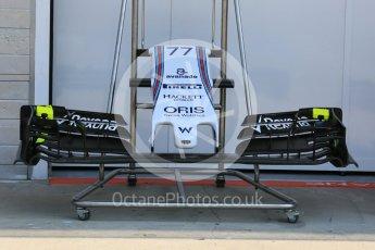 World © Octane Photographic Ltd. Williams Martini Racing FW37. Thursday 23rd July 2015, F1 Hungarian GP Pitlane, Hungaroring, Hungary. Digital Ref: 1343LB5D0026