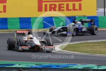 World © Octane Photographic Ltd. Friday 24th July 2015. Campos Racing – Arthur Pic and Daiko Team Lazarus– Natanael Berthon. GP2 Practice Session – Hungaroring, Hungary. Digital Ref. :