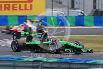 World © Octane Photographic Ltd. Friday 24th July 2015. Status Grand Prix – Richie Stanaway. GP2 Practice Session – Hungaroring, Hungary. Digital Ref. :
