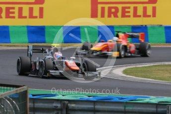 World © Octane Photographic Ltd. Friday 24th July 2015. Trident – Rene Binder and Racing Engineering – Jordan King. GP2 Practice Session – Hungaroring, Hungary. Digital Ref. :