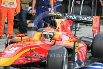 World © Octane Photographic Ltd. Saturday 25th July 2015. Racing Engineering – Alexander Rossi. GP2 Race 1 – Hungaroring, Hungary. Digital Ref. : 1354CB1L6483