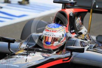 World © Octane Photographic Ltd. Saturday 25th July 2015. Rapax – Sergey Sirotkin. GP2 Race 1 – Hungaroring, Hungary. Digital Ref. : 1354CB1L6565