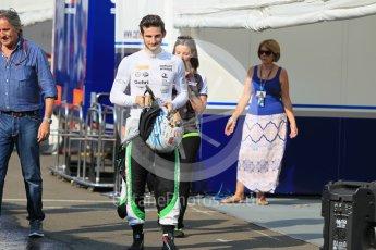 World © Octane Photographic Ltd. Friday 24th July 2015. Status Grand Prix – Alex Fontana. GP3 Practice Session – Hungaroring, Hungary. Digital Ref. : 1350CB1L5954