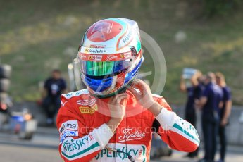 World © Octane Photographic Ltd. Friday 24th July 2015. Carlin – Antonio Fuoco. GP3 Practice Session – Hungaroring, Hungary. Digital Ref. : 1350CB1L6035