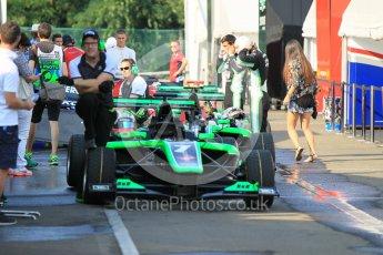 World © Octane Photographic Ltd. Friday 24th July 2015. Status Grand Prix – Seb Morris. GP3 Practice Session – Hungaroring, Hungary. Digital Ref. : 1350CB1L6070