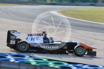 World © Octane Photographic Ltd. Friday 24th July 2015. Trident – Artur Janosz. GP3 Practice Session – Hungaroring, Hungary. Digital Ref. : 1350CB1L6137