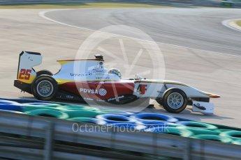 World © Octane Photographic Ltd. Friday 24th July 2015. Campos Racing – Samin Gomez. GP3 Practice Session – Hungaroring, Hungary. Digital Ref. : 1350CB1L6172
