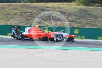 World © Octane Photographic Ltd. Friday 24th July 2015. Arden International – Emil Bernstorff. GP3 Practice Session – Hungaroring, Hungary. Digital Ref. : 1350CB1L6219