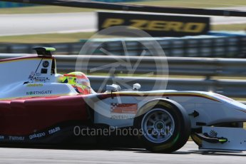 World © Octane Photographic Ltd. Saturday 25th July 2015. Campos Racing – Alex Palou. GP3 Qualifying – Hungaroring, Hungary. Digital Ref. : 1353LB1D9516