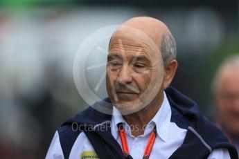 World © Octane Photographic Ltd. Sauber F1 Team - Peter Sauber. Saturday 5th September 2015, F1 Italian GP Paddock, Monza, Italy. Digital Ref: 1409LB1D0271